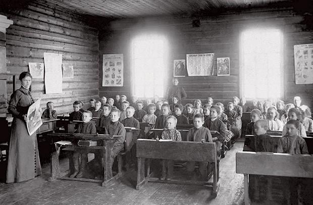 Земская школа 1908-1912 г.г. Фото: Союз фотохудожников России