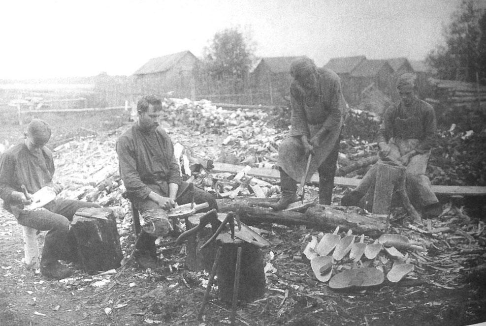 Охота и крестьянские промыслы на дореволюционных фото ... Борона Своими Руками
