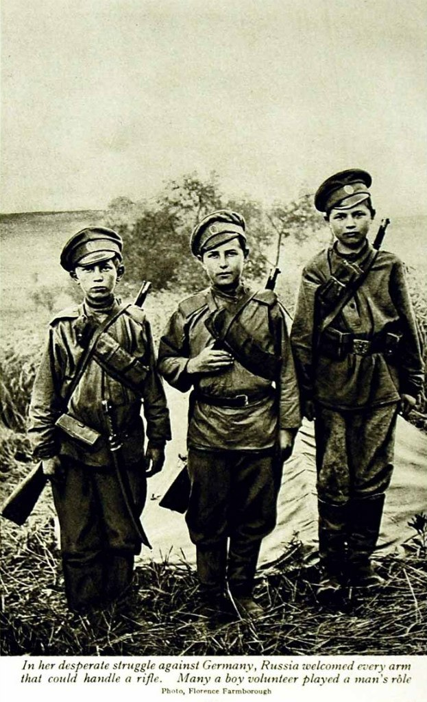 russia s role in wwi