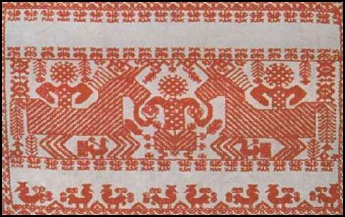 Макошь схема вышивки крестом фото 633