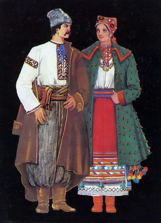 изображения костюмы украинского народа картинки это накладные