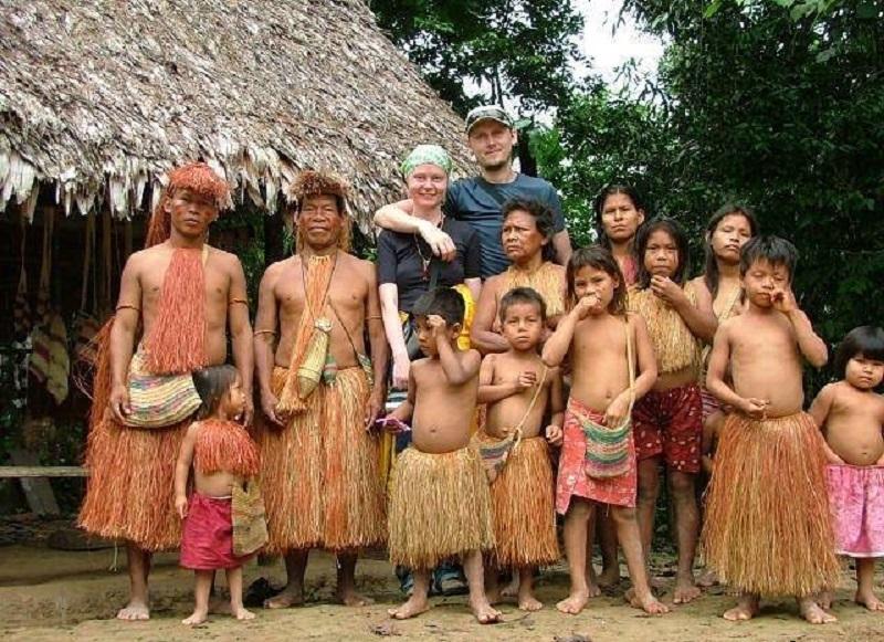 Секс племен реки амозонки
