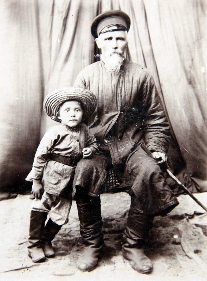 Казаки ст. Чарышской. 27 августа 1909 г. Михаил Казаков