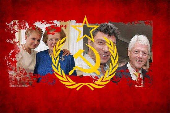 Западные лидеры о развале СССР