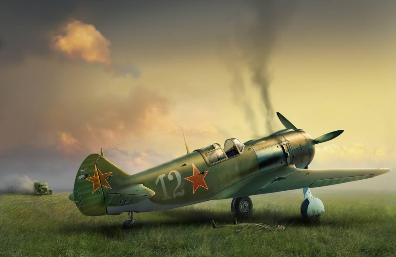 Обои истребитель, ВВС РККА, советский, великая отечественная война, одномоторный, ссср. Авиация foto 16