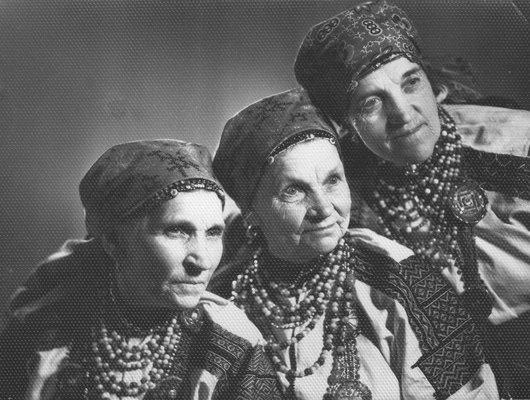 Легендарные сёстры Жуковы из с. Большое Красненского района Белгородской области