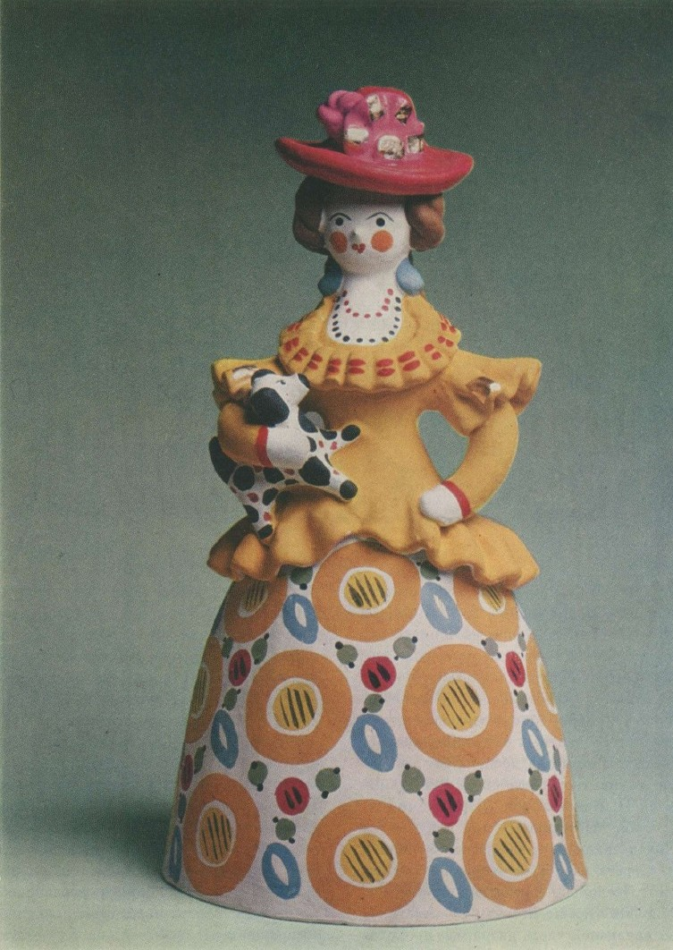 дымковская игрушка картинки с зонтиком известного