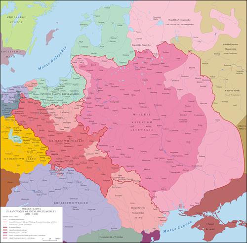 Польша и Литва (1386-1434)